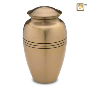 Adult Radiance Gold Urn
