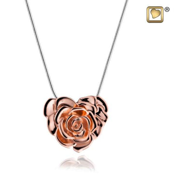 Cremation Pendant LoveRose Rose Gold Vermeil