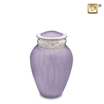Blessing Lavender Silver Infant Urn