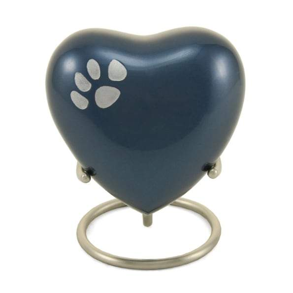 Blue Heart Pet Keepsake