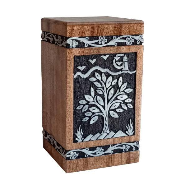 Tree of Life Scenery Adult Urn
