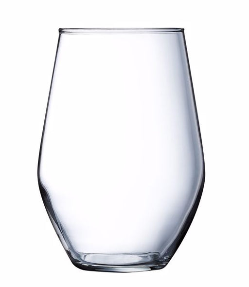 Arc J5661 15 oz Concerto Stemless Wine Glass