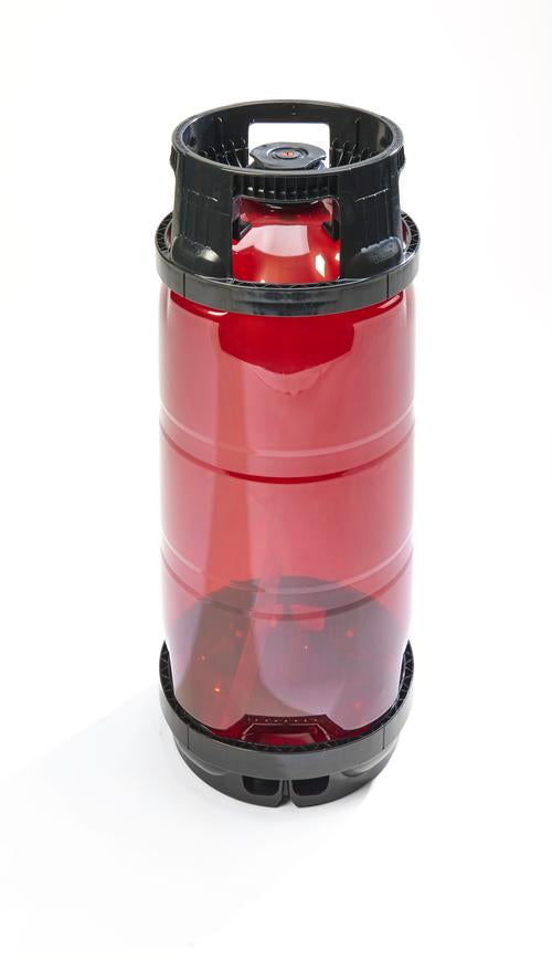 One-way Dolium 20L Slimline Keg - C02