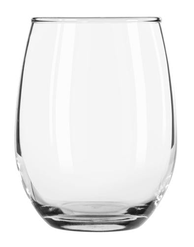 Libbey 207 9 oz Stemless Wine Glass