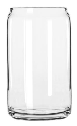 Libbey 209 16 oz Beer Can Glass
