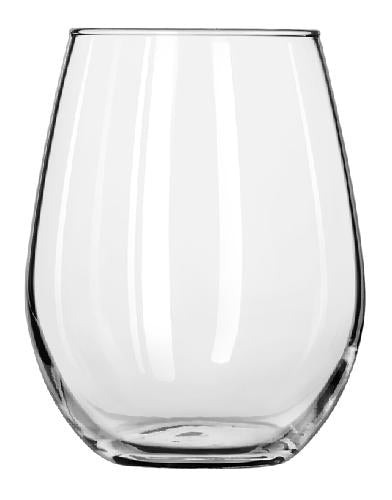 Libbey 217 12 oz Stemless Wine Glass