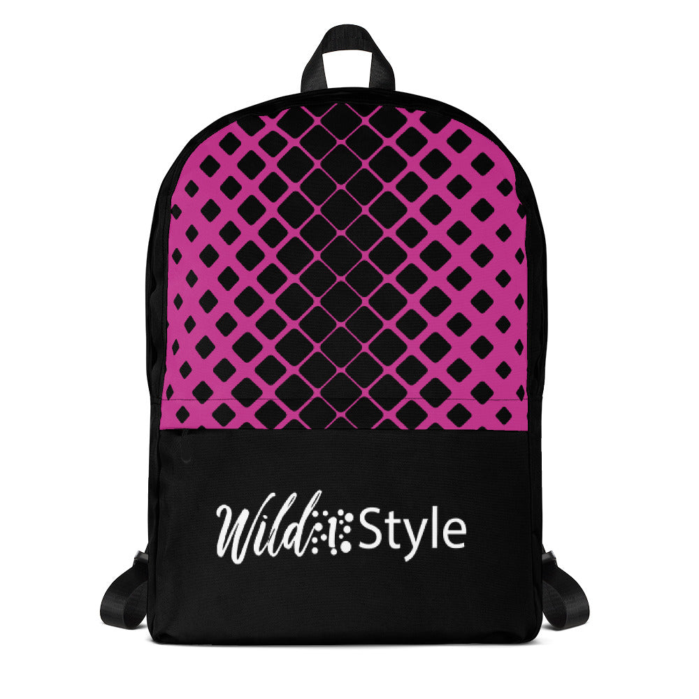 Backpack Pink Net