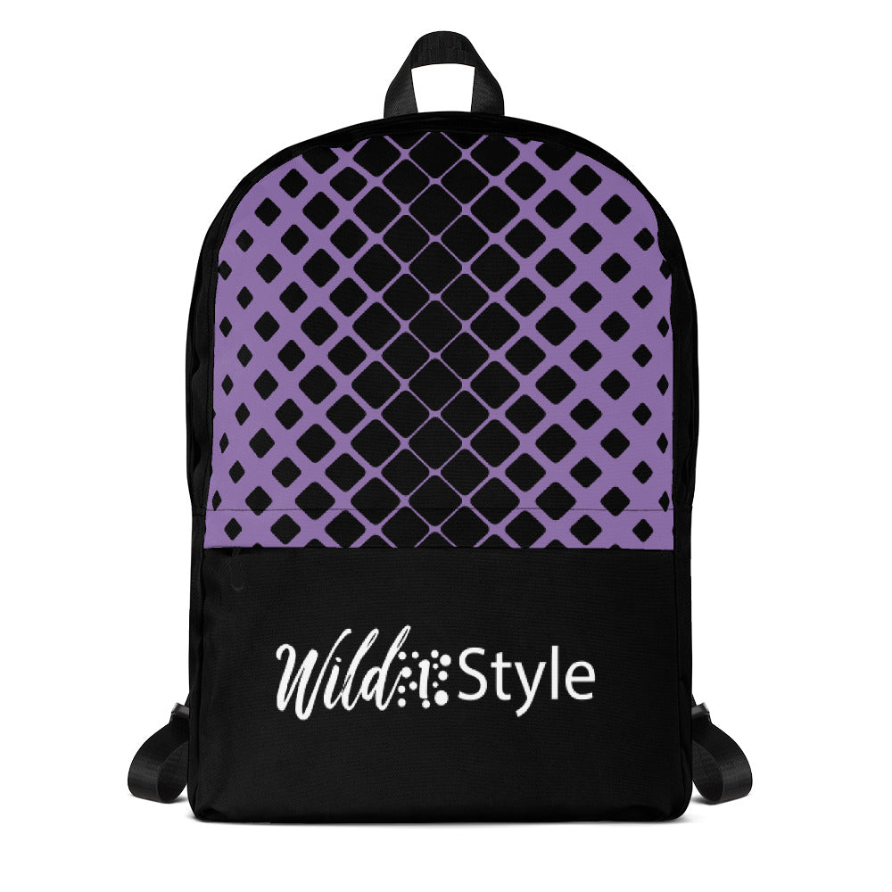 Backpack Purple Net