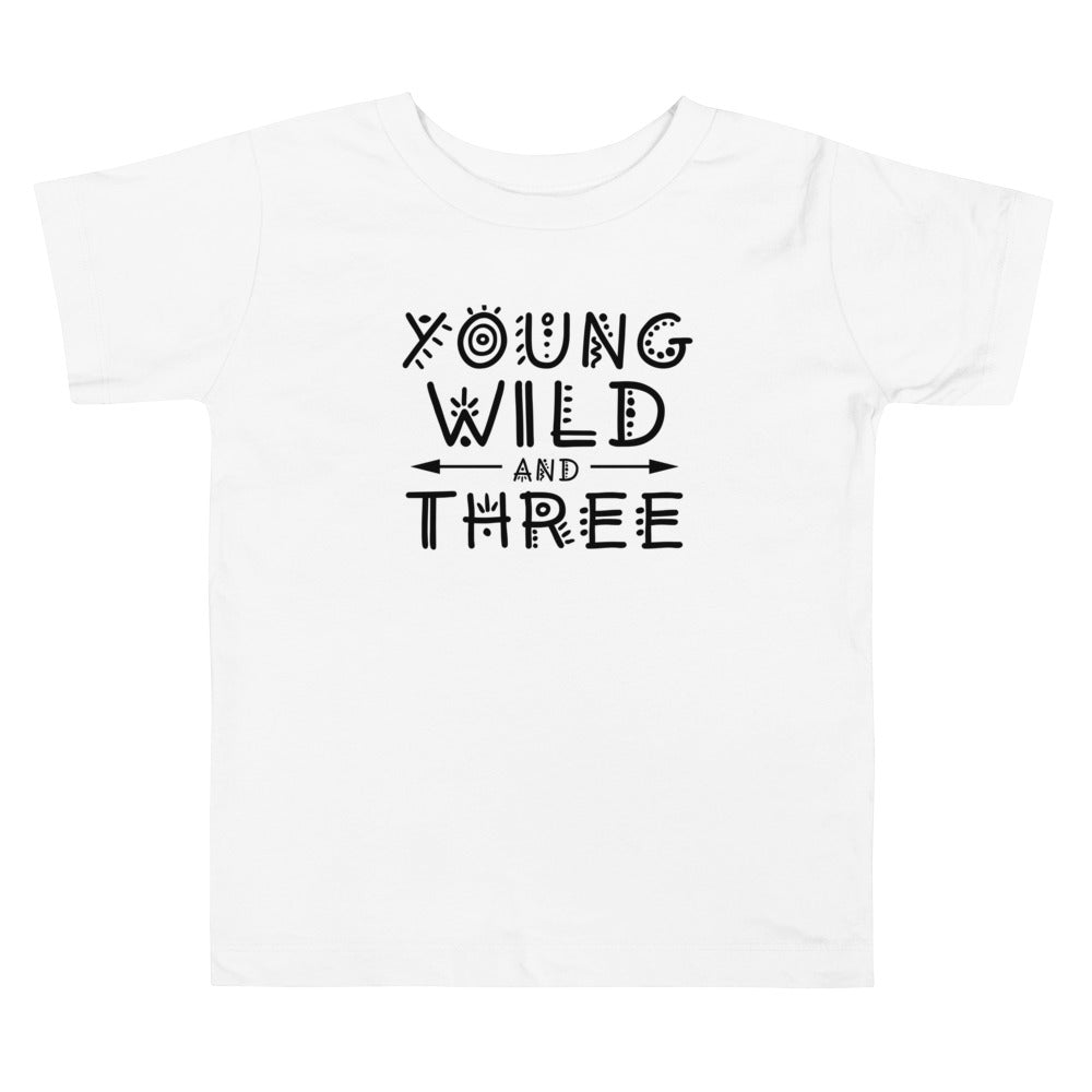 Toddler Short Tee Wild Three