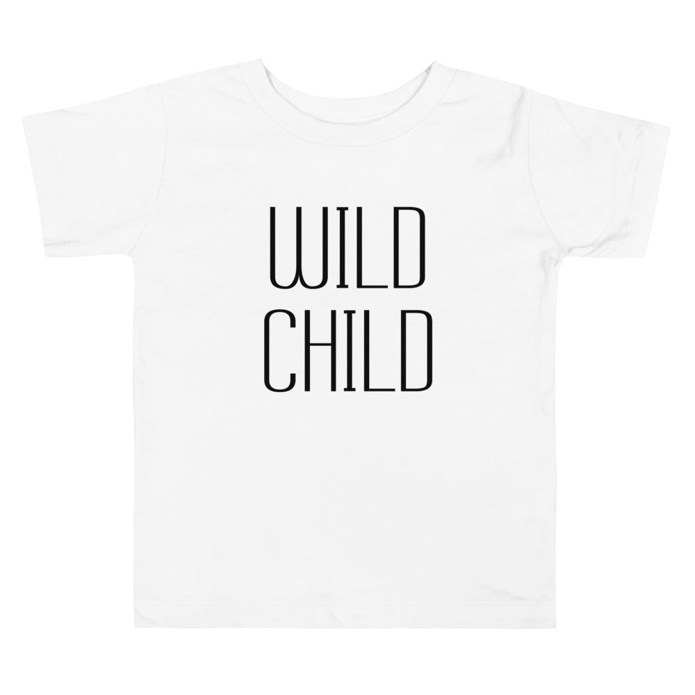 Toddler Short Tee Wild Child
