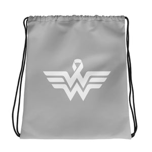 WW Drawstring bag Light Grey