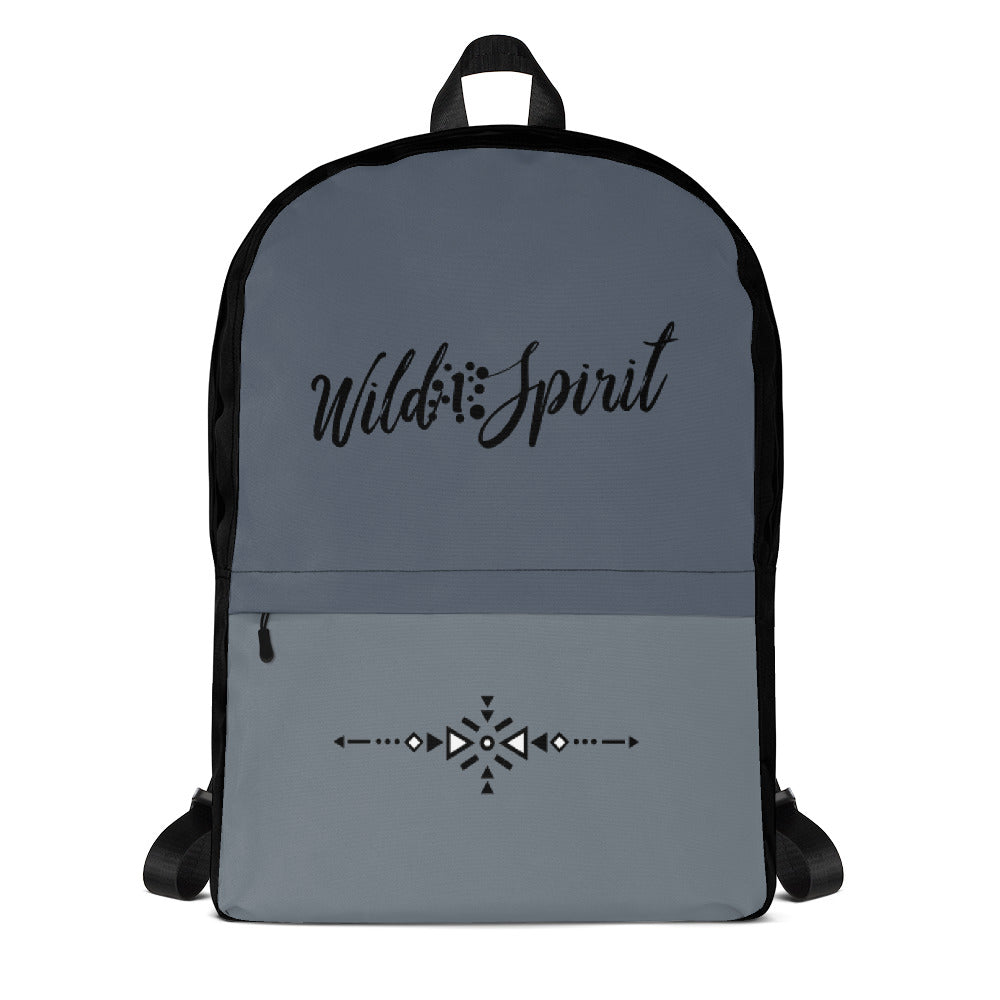 Backpack WS Blue Grey