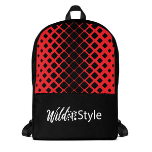 Backpack Red Net