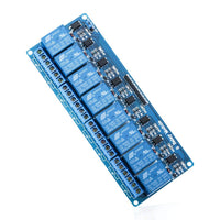 8 Channel DC 5V Relay Module with Optocoupler for Arduino UNO R3 MEGA 2560 1280 DSP ARM PIC AVR STM32 Raspberry Pi