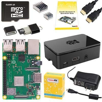 Pi 3 Model B+ Starter Kit. Pi 3 Model B+ Starter Kit - 32 GB. PI3P-STR32-C4-BLK