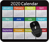 2020 Calendar Mouse pad Gaming Mouse pad Mousepad Nonslip Rubber Backing