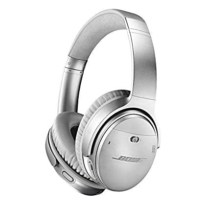 QuietComfort 35 II Wireless Bluetooth Headphones, Noise-Cancelling, with Alexa voice control, enabled with  AR - Silver
