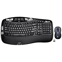 MK550 Wireless Wave Keyboard and Mouse Combo - Includes Keyboard and Mouse, Long Battery Life, Ergonomic Wave Design