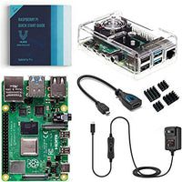 Raspberry Pi 4 Basic Kit with Fan Cooled Case (4GB)