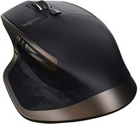 MX Master Wireless Mouse – High-Precision Sensor, Speed-Adaptive Scroll Wheel, Easy-Switch up to 3 Devices - Meteorite
