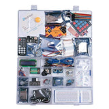 UNO R3 Project Most Complete Starter Kit w/Tutorial Compatible with Arduino IDE (63 Items)
