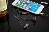 YSM1000 Headphones, Earbuds, High Definition, in-Ear, Noise Isolating, Heavy Deep Bass for iPhone, iPod, iPad, MP3 Players, Samsung Galaxy, Nokia, HTC, etc (Gold Without Mic)
