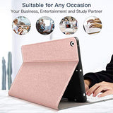 "iPad 7th Generation Case with Keyboard for iPad 10.2 2019 7th Gen Keyboard Case with Pencil Holder, Lightweight Smart Magnetic Detachable Wireless Keyboard Cover for iPad 7th 10.2"", Rose Gold"