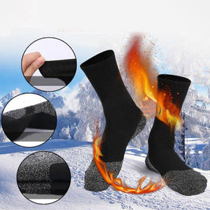 Aluminized Insulation Fibers Heat Socks