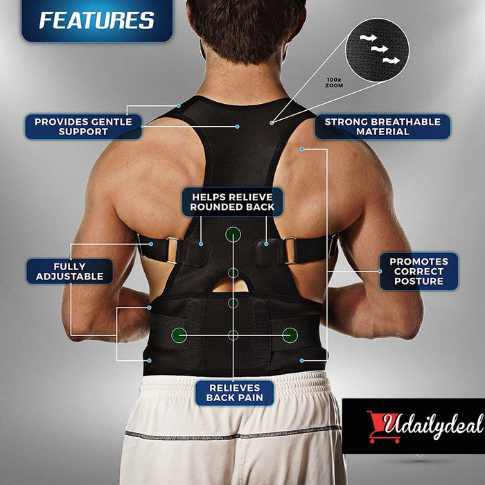 UBACK PRO™ Posture-Corrective Therapy Back Brace For Men & Women