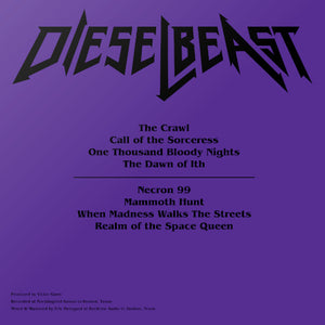 Dieselbeast Special Edition Vinyl Only
