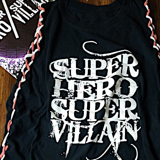 Super Hero/Super Villain Custom Tee