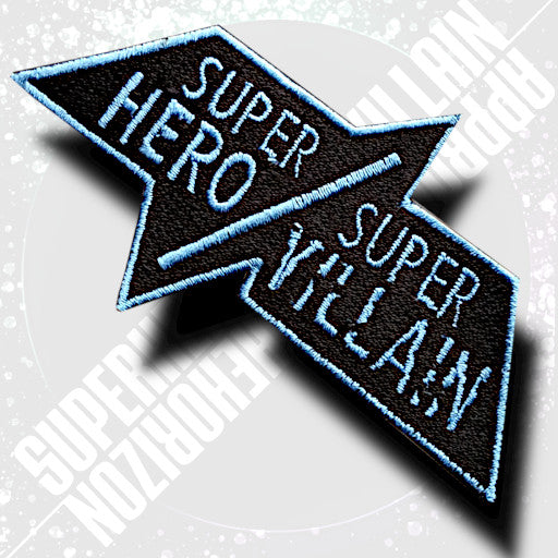 Super Hero/Super Villain Shuriken Patch