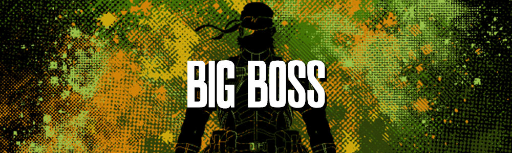 Big Boss Collection - Retro and Pixel Video Game T-shirts - Nintendo, Solid Snake, Ninja, MGS, Big Boss, Naked Snake, Raiden, Cyborg Ninja, Revolver Ocelot, Ray, MGS V, MGS 3, Espionage, Action, PS1, Cardboard Box, Metal Gear Solid, Otacon, Phantom Pain, Psycho Mantis, T-Shirts, Art, Men, Women, Best, Tank Top, Long Sleeve