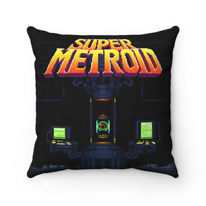 Can this bounty hunter survive the depths of space? High Quality Art Work 100% Polyester cover Double sided print Concealed zipper pillow included. Metroid, Samus Aran, Sci-Fi, Science Fiction, SNES, Nintendo, NES, Bounty Hunter, Space, Mother Brain, Kraid, Zebes, Prime, 4, Zero Suit, Switch, Alien, Ridley, Smash Bros