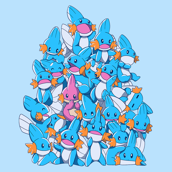 A Pile of Water Starters