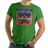 Adventures of Lolo - Video Game Pixel T-Shirts & Retro Gaming Tees! NES, Nintendo, Nintendo Shirts, Pixel, 8-Bit, 80s, 1980s, 1990s, 90s, Retro, Gamer, Lolo, Princess Lala, King Egger, 1989, 1980s, Eggerland, Castle, Puzzle Action, Super Mario Bros, Kari LikeLikes, Men, Women, Tank, Long Sleeved