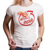 Shop like a gamer. PixelRetro is your best destination for Video Game T-Shirts for Women. Chestbuster from the Alien film on a White Fit, Fitted T-Shirt. Mashup or Parody design featuring a horror classic from the 70's and 80's. Online shop only. Soft, durable and high quality cotton.