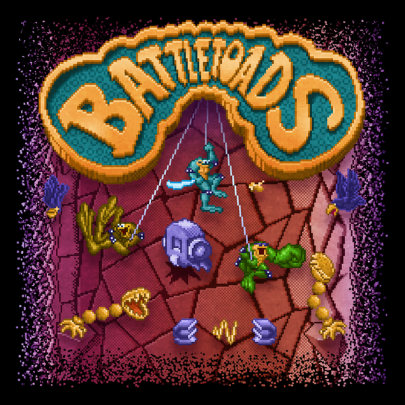 Battletoads - Video Game Pixel T-Shirts & Retro Gaming Tees! Nes, Nintendo, Pixel, 8-Bit, Battletoads, Rash, Zitz, Pimple, Princess Angelica, Dark Queen, Ragnarok, 1991, 1990s, Beat Em Up, Rare, Donkey Kong, Goldeneye, Arcade, Kari, LikeLikes, Men, Women, Tank, Long Sleeved