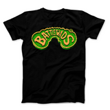 Battletoads - Video Game Pixel T-Shirts & Retro Gaming Tees! NES, Nintendo, 8-Bit, Pixel, Retro, 1980s, 80s, Title Screen, Push Start, Geek, Nerd, Dark Queen, Battletoads, Rare, Rash, Zitz, Pimple, 1991, Double Dragon, Beat Em Up, Toad, Logo, Rare, Rareware, Old, Pixel Retro, Men, Women, Tank, Long Sleeved