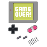 Before the iPad - Retro and Pixel Video Game T-shirts - Game Over, Game Boy, IPAD, Buttons, Nintendo, Pokemon, Cute, Adorable, Old School, Handheld, Game System, Game Screen, Retro, GB
