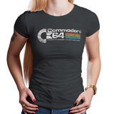 Commodore 64 - Video Game Pixel T-Shirts & Retro Gaming Tees! - Commodore 64, PC, 1982, 80s, 1980s, 8-Bit, Commodore, AmigaOS, Mouse, Keyboard, C64, Best Selling, CBM, Highest Selling, Men, Women, Kids, Clothes, Tees