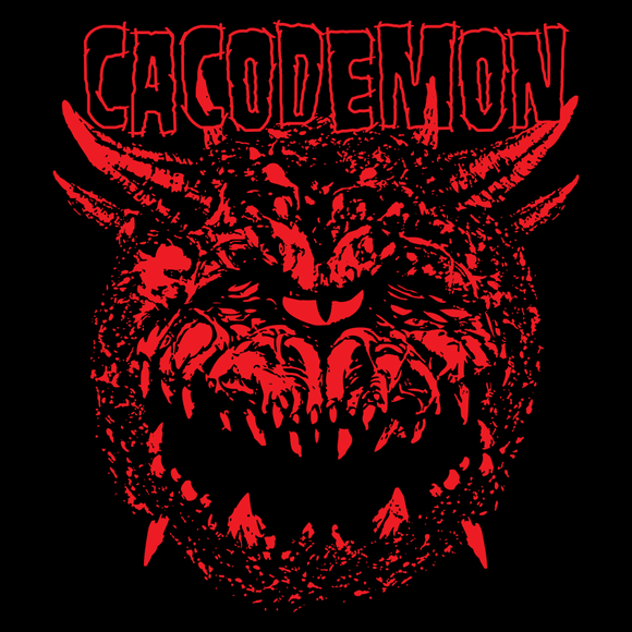 Shop like a gamer. PixelRetro is your best destination for Video Game T-Shirts for Men and Women. Unisex Tee with a great fit. Cacodemon from hell and Doom on a Black or Navy T-Shirt. FPS, PC, Sci-Fi setting on an unique design with a metal , band and horror look.. Online shop only. Soft, durable and high quality cotton.