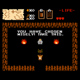 You Have Chosen Wisely - Retro and Pixel Video Game T-shirts - Pixel, Retro, Nerd, Geek, Zelda, Link, Nintendo, NES, Indiana, Jones, Doctor, Movie, Film, Parody, Mash Up, Classic, 80s, 90s, 1980s, RPG, Choose, Wise, Men, Women, Tank, Long Sleeve, Shirts