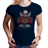 Colossal Boss - Retro and Pixel Video Game T-shirts - Anime, Japan, Japanese, Manga, Shingeki no Kyojin, Colossal titan, Titan, Mikasa Ackerman, Eren Jaeger, Nes, Pixel, SNES, 16-Bit, Nerd, Geek, Boss, Attack, Cool, Cartoon, Typhoonic, Men, Women, Kids, Tank