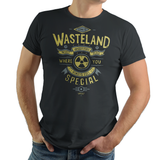 Come To Wasteland - Video Game Pixel T-Shirts & Retro Gaming Tees! T-60, Fallout, Wasteland, Fallout, 4, Post-Apocalyptic, Nuclear Bomb, RPG, Action, Survivor, Commonwealth, PC, Xbox, Nuka Cola, Vault Boy, Armor, Vault Tec, Pip Boy, Typhoonic, Women, Men, Kids, Tee