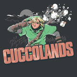 Cuccolands - Video Game Pixel T-Shirts & Retro Gaming Tees! - Claptrap, Borderlands, Psycho, Bandit, Crazy, Gun, Finger Gun, Badass, Mashup, TLOZ, Zelda, The Legend of Zelda, Link, OOT, BOTW, Chicken, Cucco, Breath of The Wild, Switch, Majoras Mask, Men, Women, Kids, Clothes, Tees
