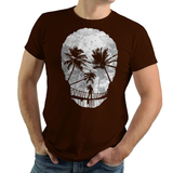 Desolate Death - Retro and Pixel Video Game T-shirts - Gamer, Uncharted, Nathan Drake, Adventure, Shooter, Naughty Dog, Playstation, PS4, Tomb Raider, Action, Skull, Palm Tree, Abstract, Cool, Action, PS3, The Last of Us, Daletheskater, Videogame, Games, Gamer, Best, Women, Men, T-Shirt, Tee, Slim Fit, Tank Top, Long Sleeve
