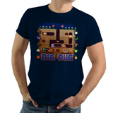 Dig Dug - Video Game Pixel T-Shirts & Retro Gaming Tees! NES, Nintendo, Nintendo Shirts, Pixel, 8-Bit, 80s, 1980s, 1990s, 90s, Retro, Pixel Retro, Dig Dug, Namco, Maze, Taizo Hori, Pookas, Fygars, Galaga, Mr Driller, 1982, Kari LikeLikes, Women, Men, Kids, Cotton, Tank, Long Sleeved, Shirt