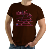 Donkey Kong - Video Game Pixel T-Shirts & Retro Gaming Tees! Pixel, Retro, Sprite, Nes, 8-Bit, Donkey Kong, DK, Pauline, Mario, Luigi, Mario Bros, Platformer, Donkey Kong Country, Super Mario Bros, Nintendo, NES, 1981, 1980s, Arcade, Kari LikeLikes, Women, Men, Kids, Cotton, Tank, Long Sleeved, Shirt