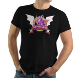 Dragon Rescuer - Retro and Pixel Video Game T-shirts -  Tank, Long Sleeved, Fit, Gamer, Mash Up, Spyro, Dragon, Rescue, Cute, Adorable, 1988, Reignited, Sparx, Eggs, Gems, PS1, 16-Bit, Mashup, Pixel, Wings, Scales, Retro, 90s, 1990s, PS1, Insomniac, Gems, Sparx, Eggs, Men, Women, Kids, Tees, Clothes